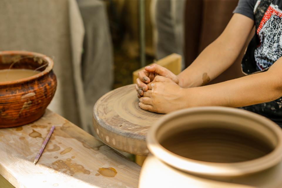 Klaipėdos etnokultūros centre – keramikos dirbtuvės