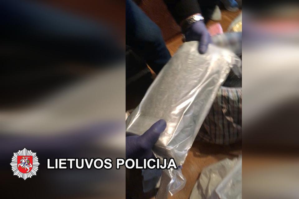 Baigtas narkotikų kontrabandos iš Ispanijos tyrimas