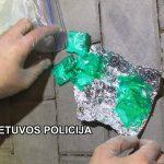 Sulaikė keletą narkotines medžiagas galimai platinusių asmenų
