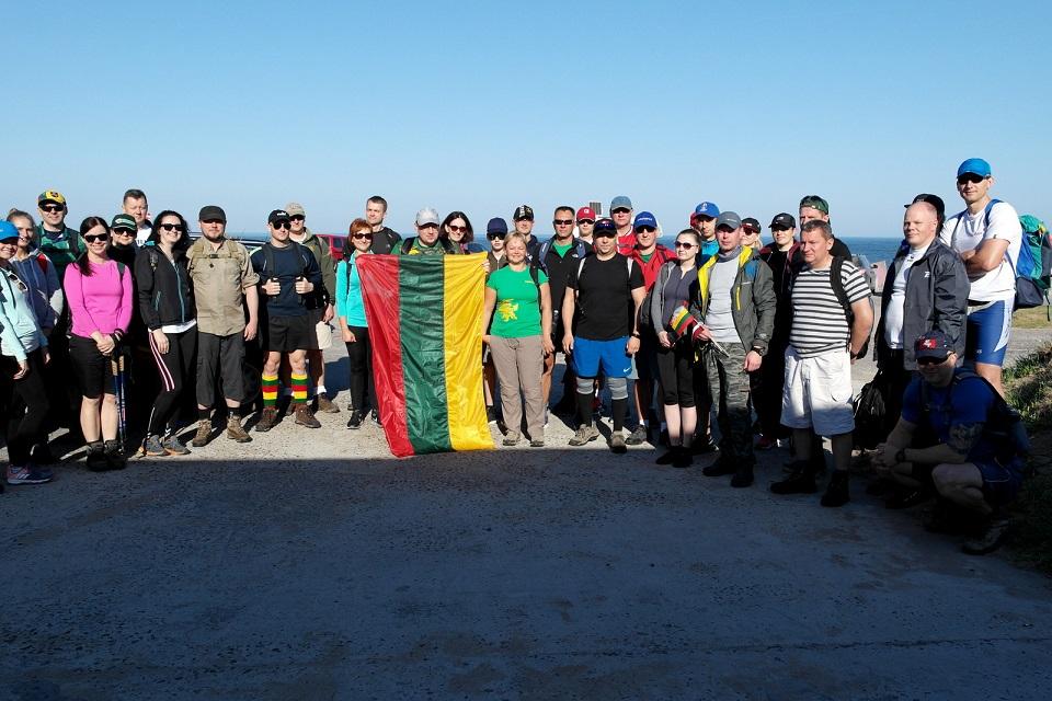 100 kilometrų pirmieji įveikė Klaipėdos prokurorai