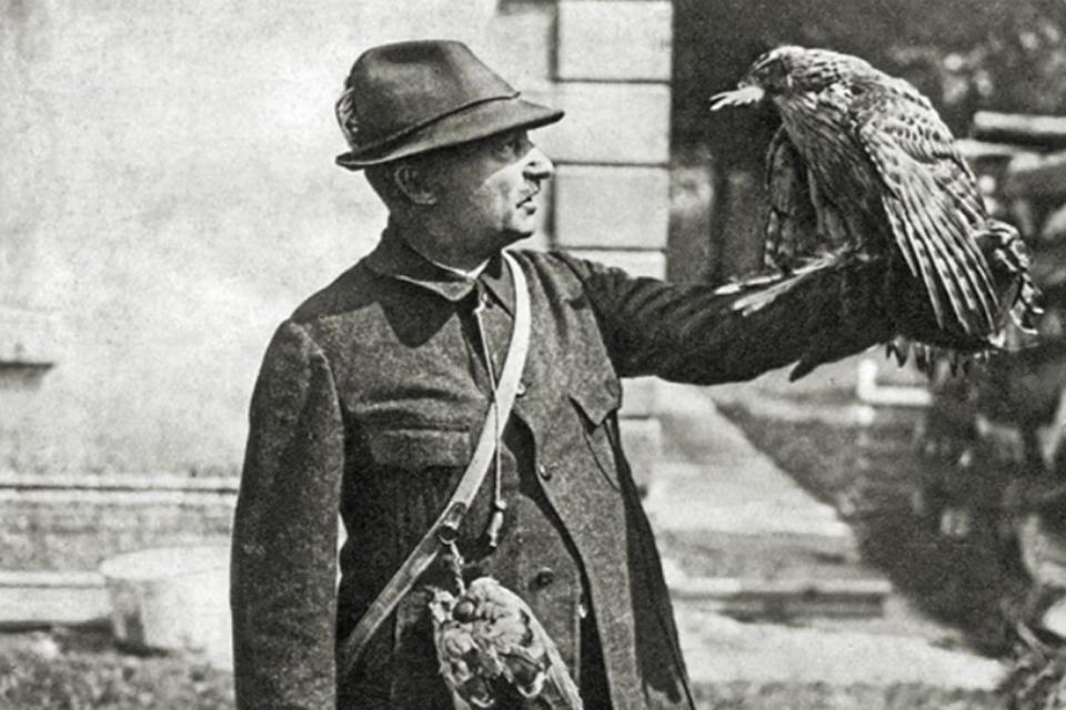 Ornitologijos pradininkas Johanas Tynemanas ir Rasytė