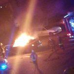 Padegė automobilį?