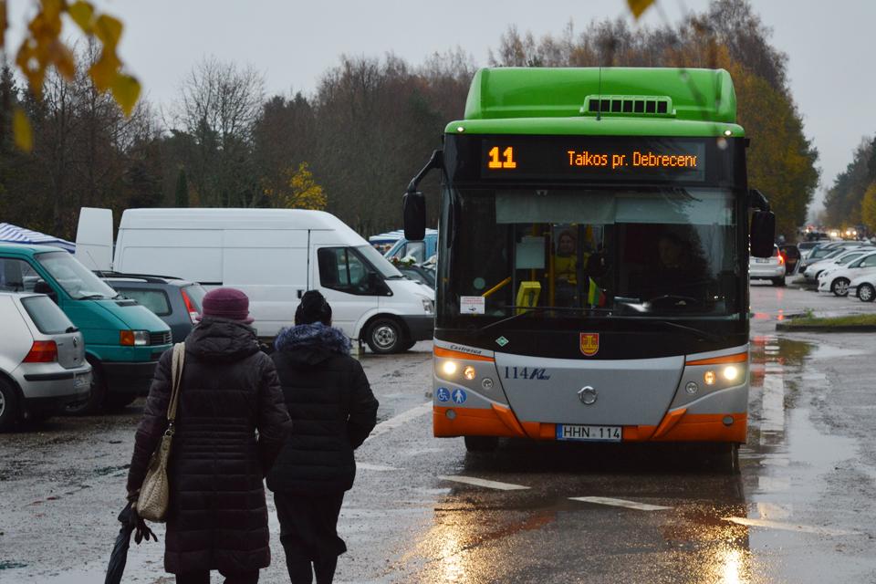 Nuo trečiadienio – viešojo transporto pokyčiai