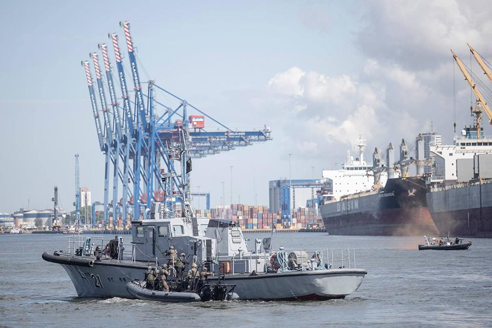 NATO vadavietės vadas: Klaipėdos uosto gynyba – pavyzdinė