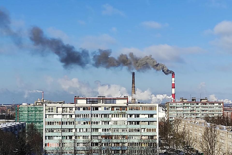 Juodas katilinės dūmas – dėl mazuto