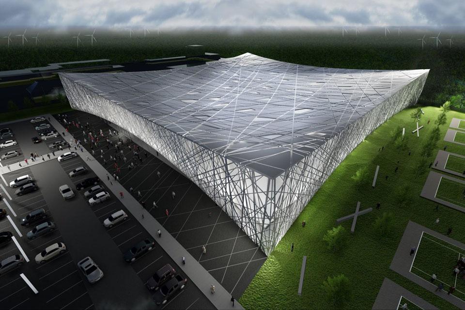 Naujo sporto komplekso statybos: iš savivaldybės prašoma per daug pinigų