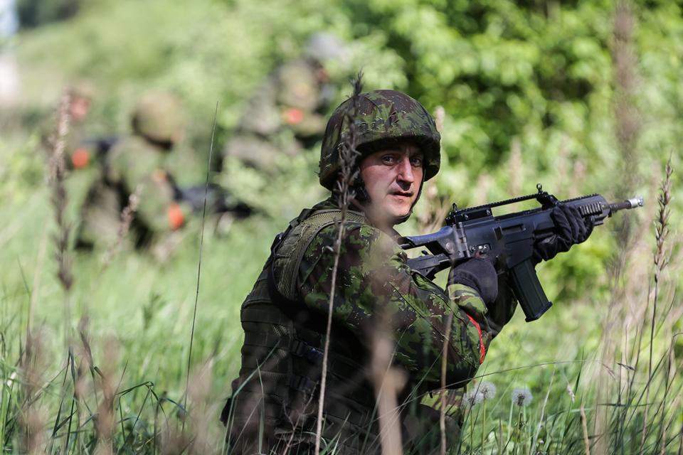 Karinius įgūdžius atnaujino per 250 rezervistų
