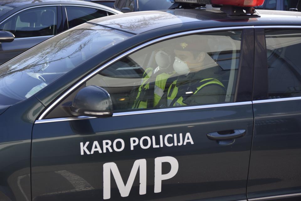 Gatvėse – Karo policija