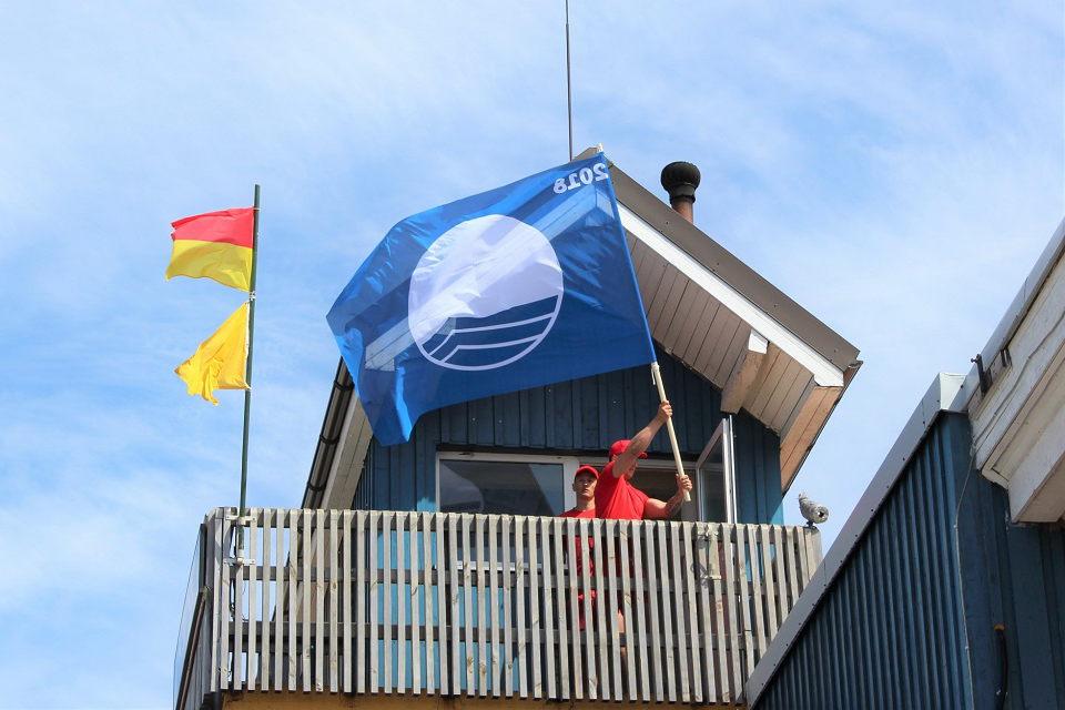 Klaipėdos paplūdimiuose – dvi mėlynosios vėliavos
