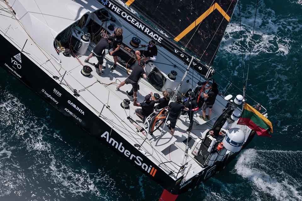 """Ambersail-2"" komanda startuoja finaliniame ""The Ocean Race Europe"" etape"