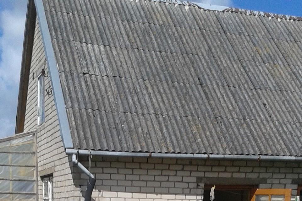 Dėl šiferio stogų – kreiptis į Savivaldybę