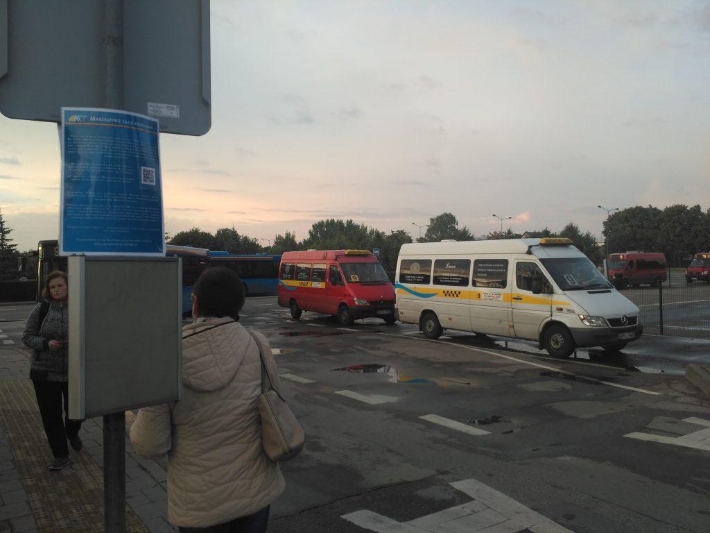Į gatves vėl grįš maršrutiniai taksi