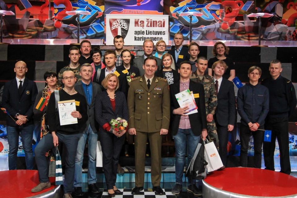 """Moksleiviai kviečiami dalyvauti konkurse """"Ką žinai apie Lietuvos kariuomenę"""""""