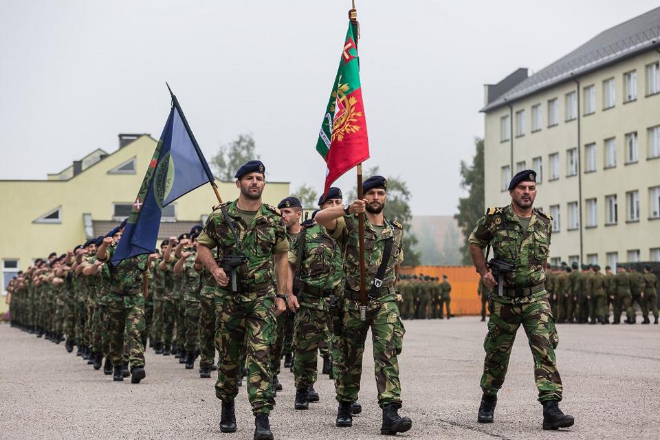 Išlydėti Klaipėdoje treniravęsi portugalų kariai