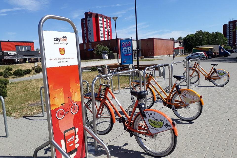 """""""CityBee"""" dviračiai pradeda sezoną pajūryje"""
