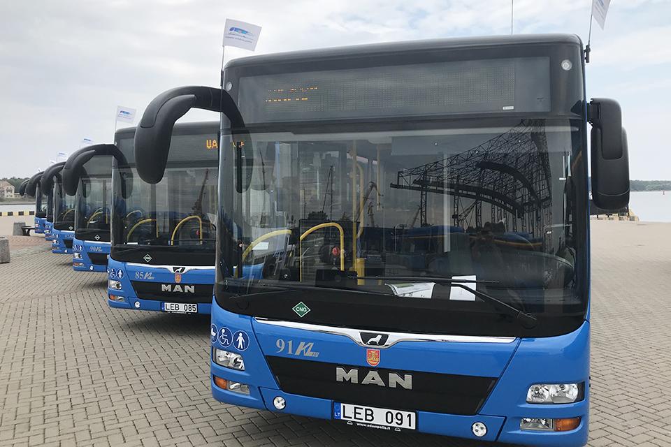 Ginčas dėl naujų autobusų baigtas taikiai