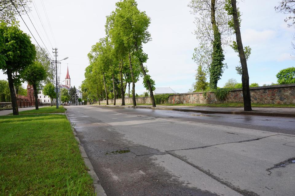 Kretingoje rekonstruos Vilniaus gatvę