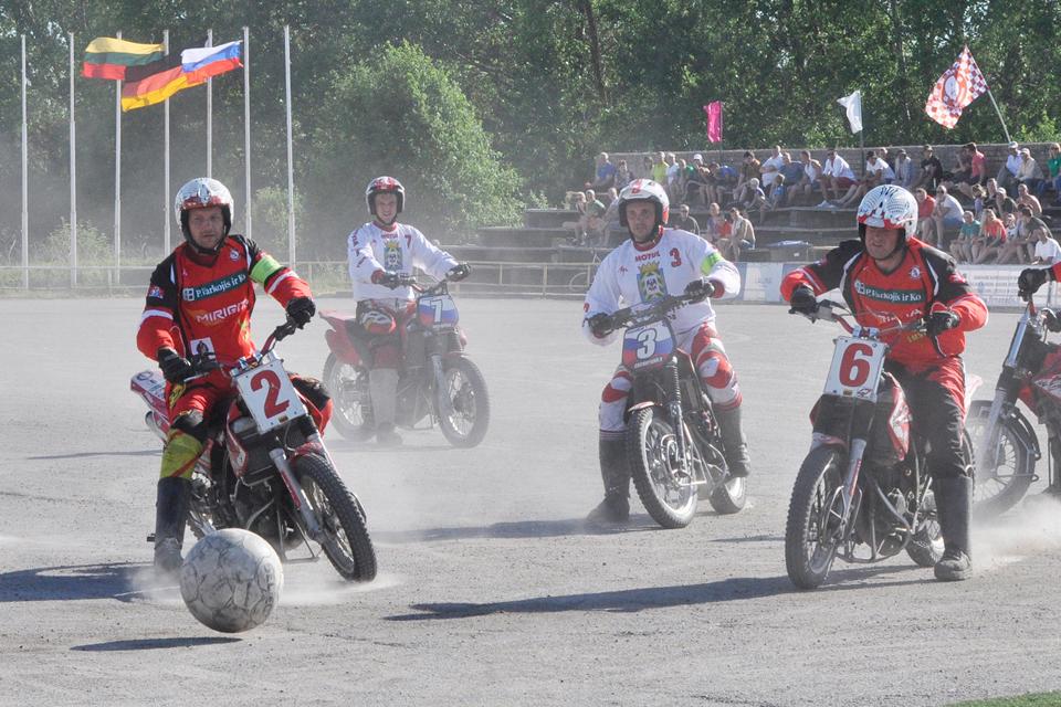 Kretingoje – tarptautinis motobolo turnyras