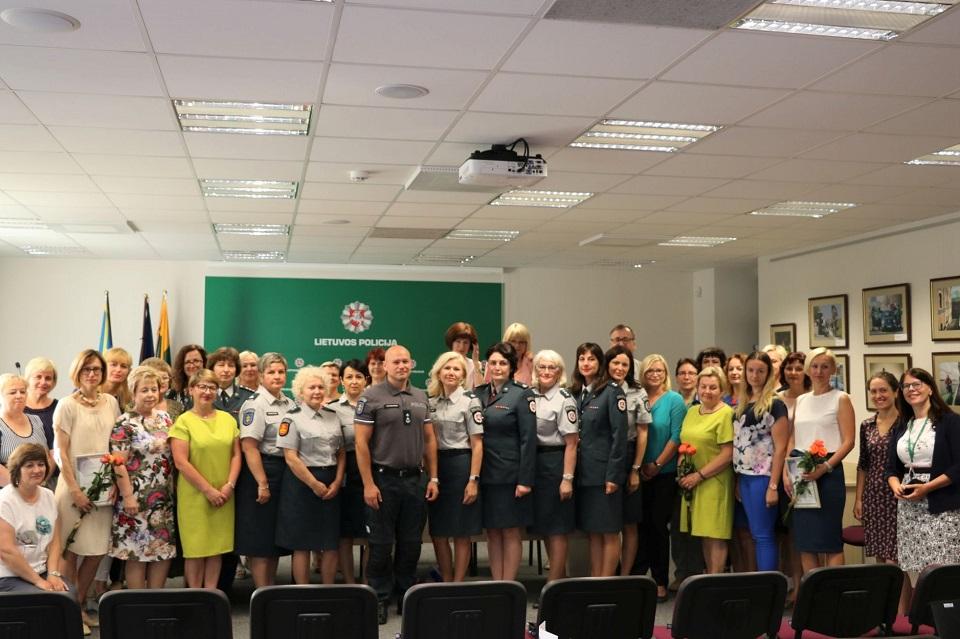 Klaipėdos apskrities policija atsisveikina su Migracijos skyriumi