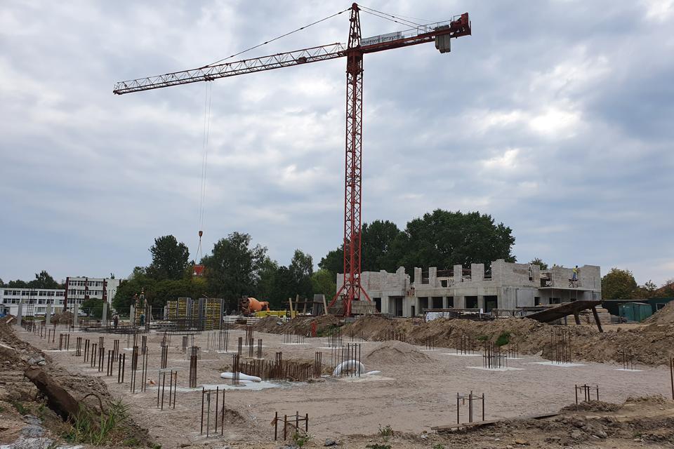 Daugiabučių statyba kelia klausimų kaimynams