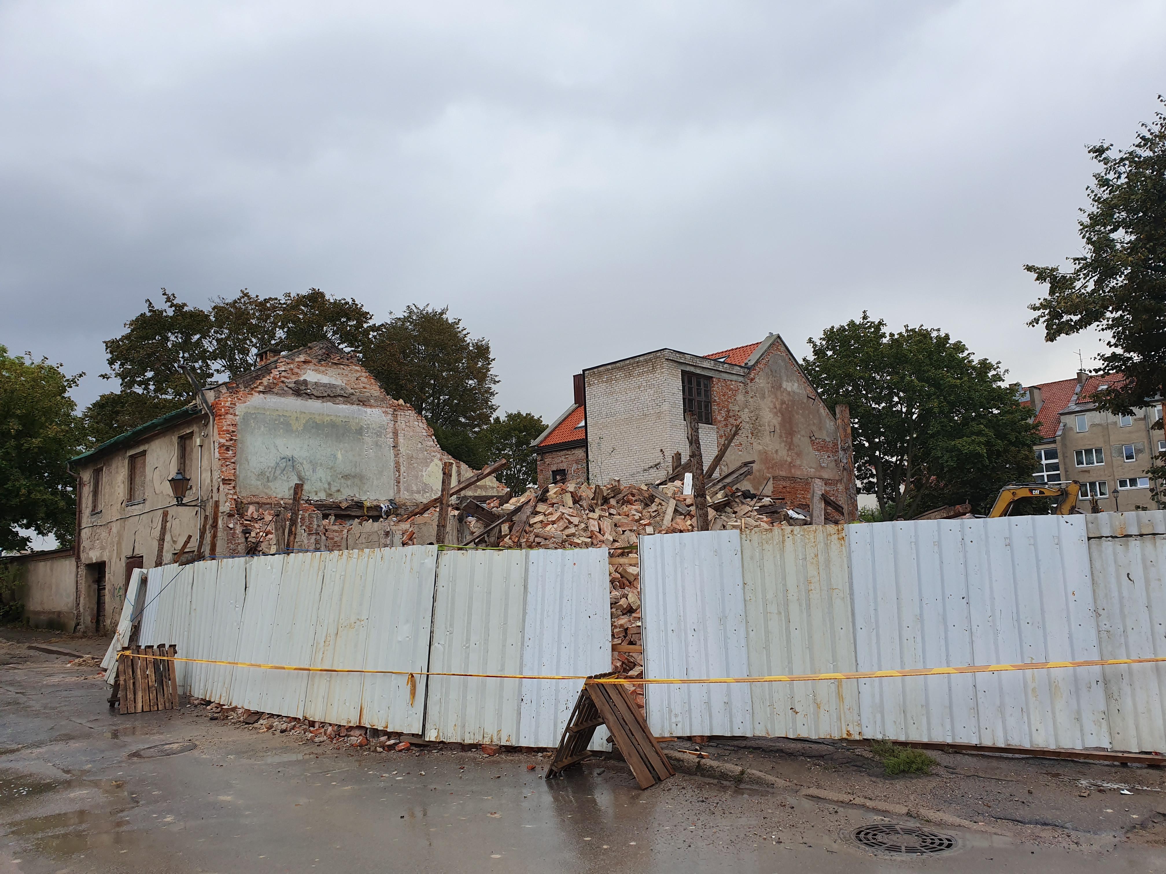 За снесенное здание в Старомгороде – минимальныйштраф