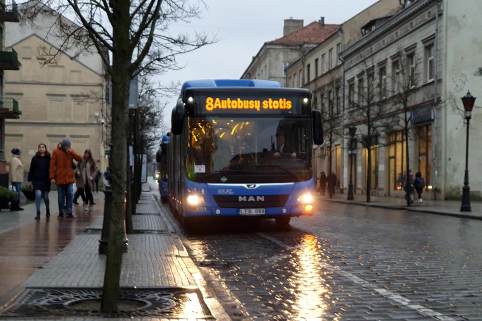 Šeštadienį ir sekmadienį autobusai važiuos kitaip