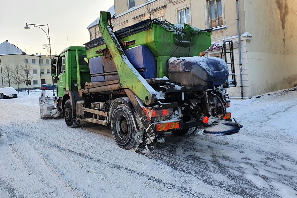 Klaipėdos kovai su sniegu – papildomos pajėgos