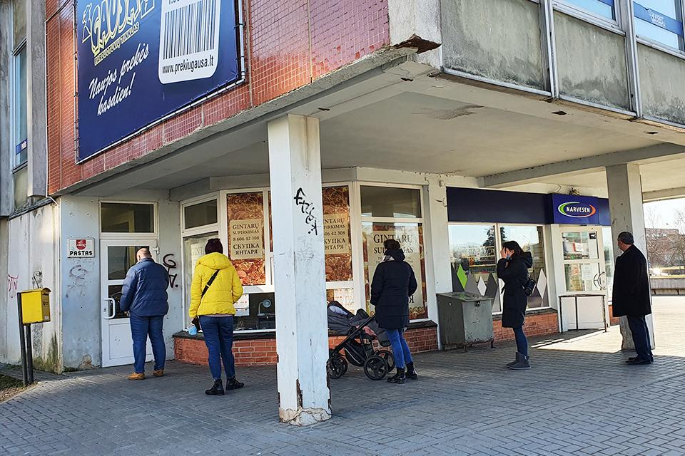 Trys Lietuvos pašto skyriai Klaipėdoje dirbs ilgiau