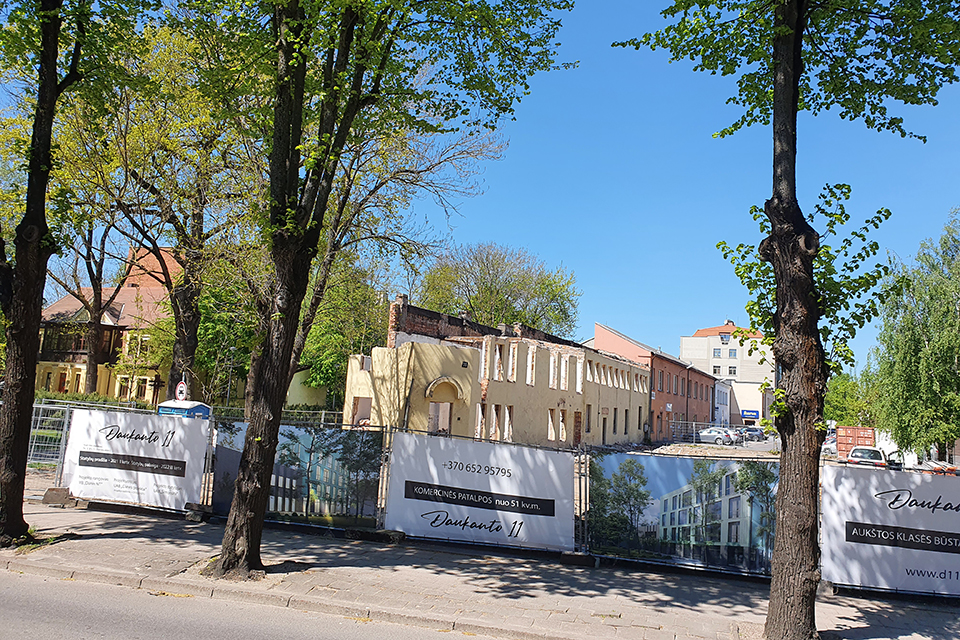 Klaipėdos centre – naujas daugiabutis