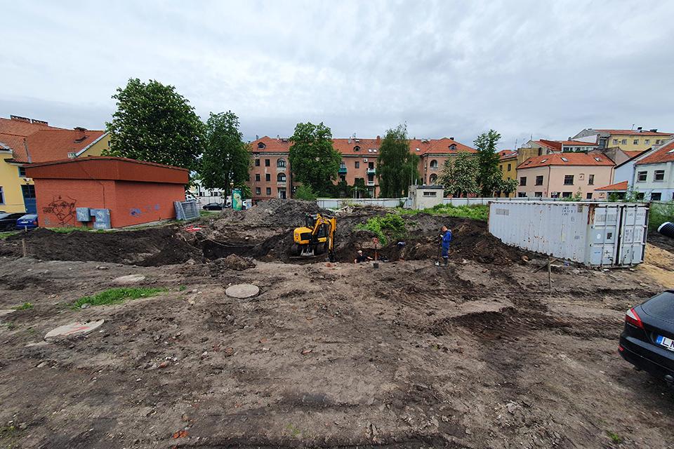 Klaipėdos senamiestyje – pasirengimas viešbučių statyboms