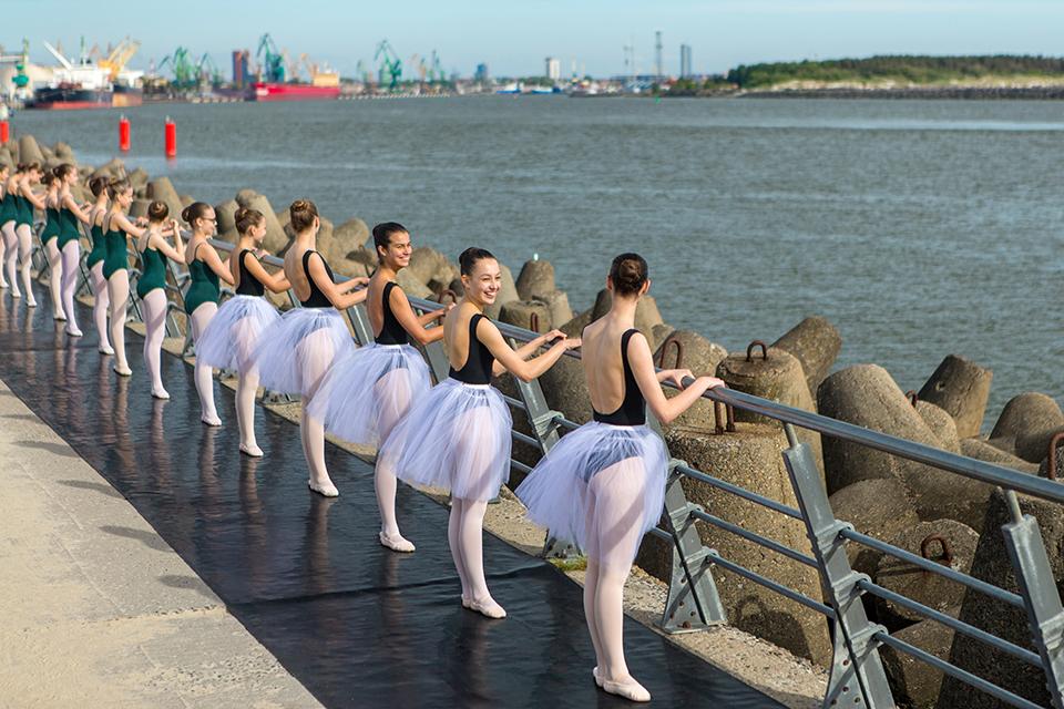 Ant molo – baleto pamoka