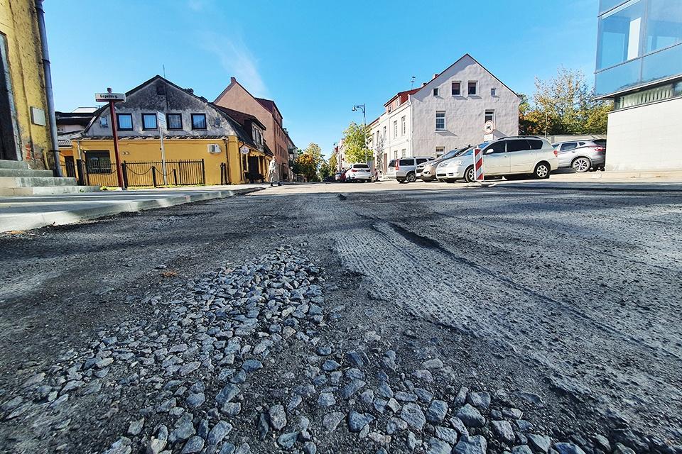 Garsioji J. Zauerveino gatvės remonto istorija – finišo link