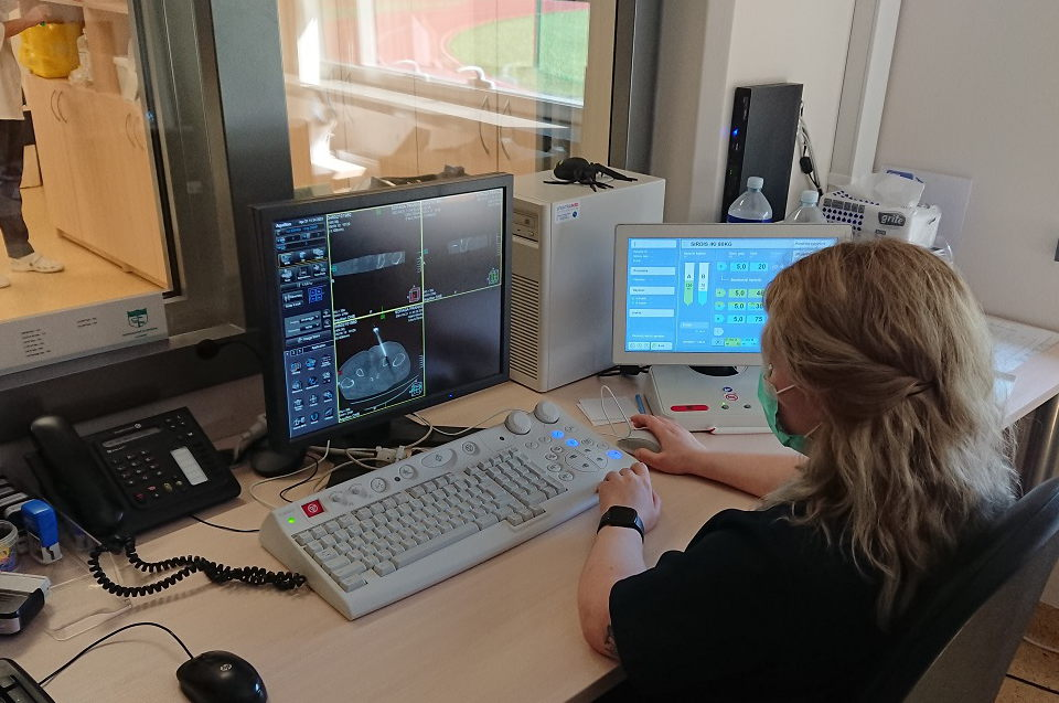Respublikinės Klaipėdos ligoninės radiologai plečia intervencinių radiologijos procedūrų spektrą