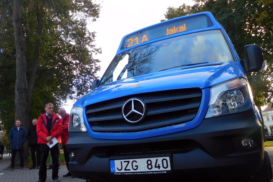 Jakų kryptyje – autobusų grafikų pokyčiai