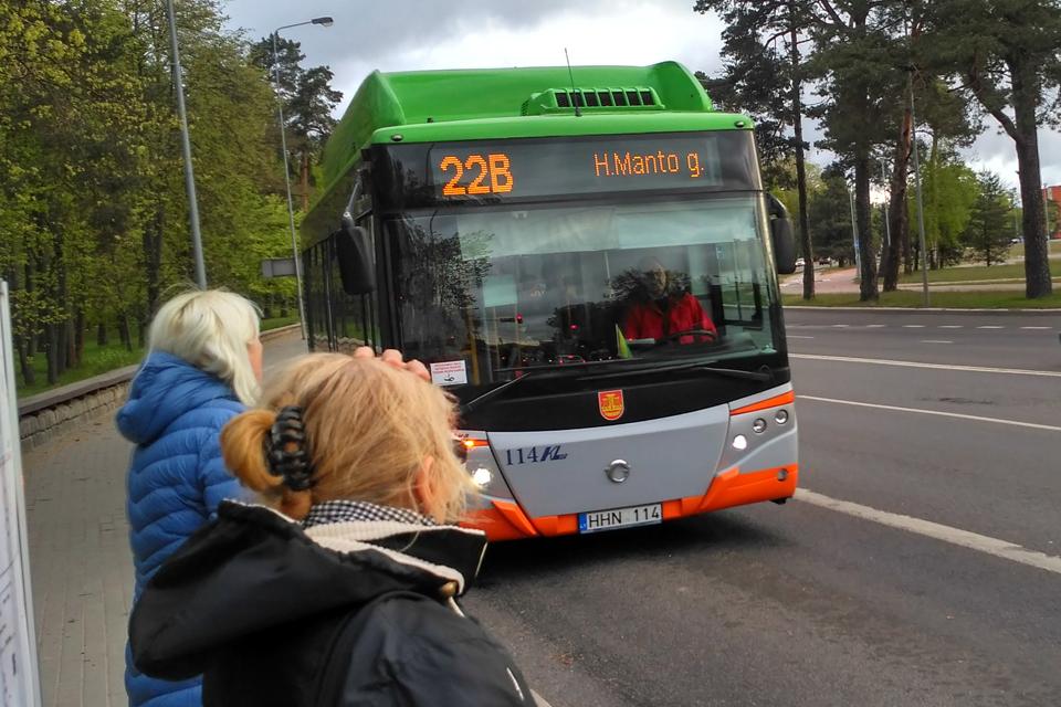 Į LEZ ir Sudmantus autobusai važiuos kitaip