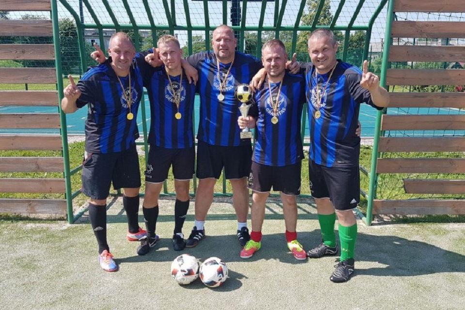 Mažąjį futbolą laimėjo Kretingos pareigūnai