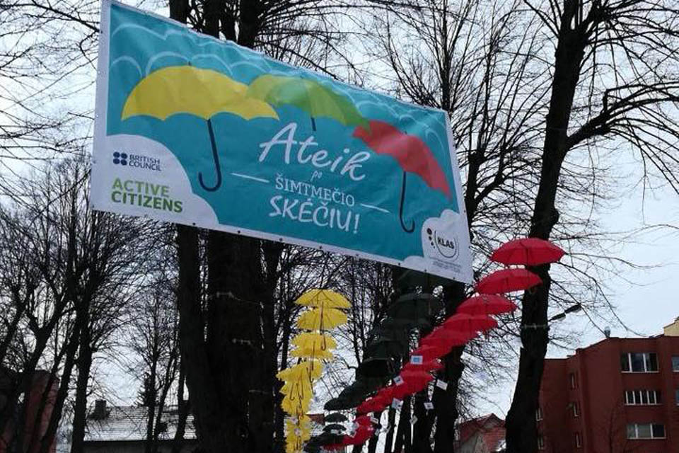 """Active Citizens"" programa Klaipėdoje"