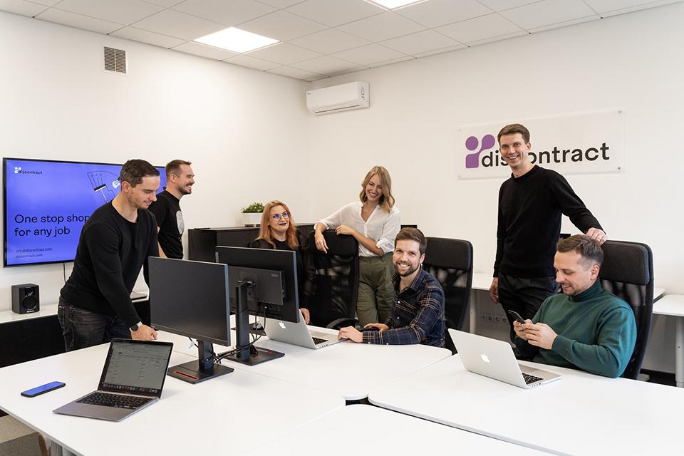 """Paslaugų startuolis """"Discontract"""" įžengė į  Klaipėdą"""