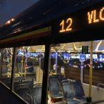 """Klaipėdoje - """"Kalėdiniai autobusai"""""""