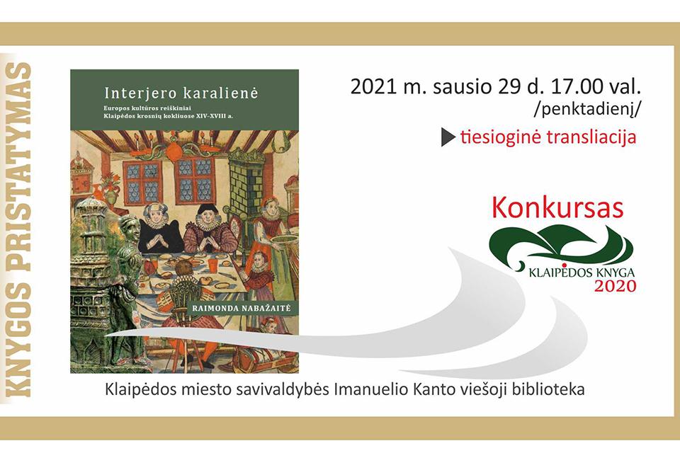 Pristatys knygą apie Klaipėdos krosnių koklius