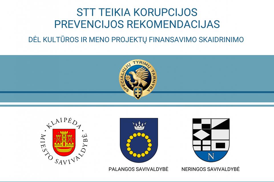 STT: kultūros finansavimas pajūryje – su korupcijos rizika