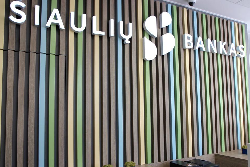 Atidaromi trys Klaipėdos regiono Šiaulių banko skyriai