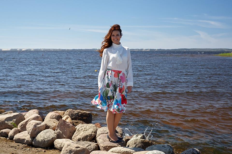 Klaipėdietė Aistė Kubiliūtė – moteris, gydanti jūrą