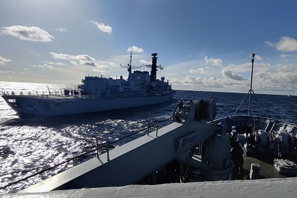 Karinės jūrų pajėgos dalyvauja mokymuose Baltijos jūroje