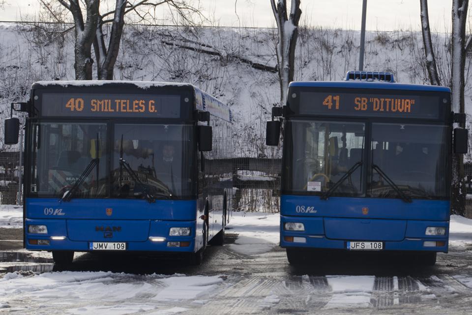Keičiasi dalies autobusų tvarkaraščiai