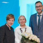Pasveikino Olgą Žalienę su nauja kadencija