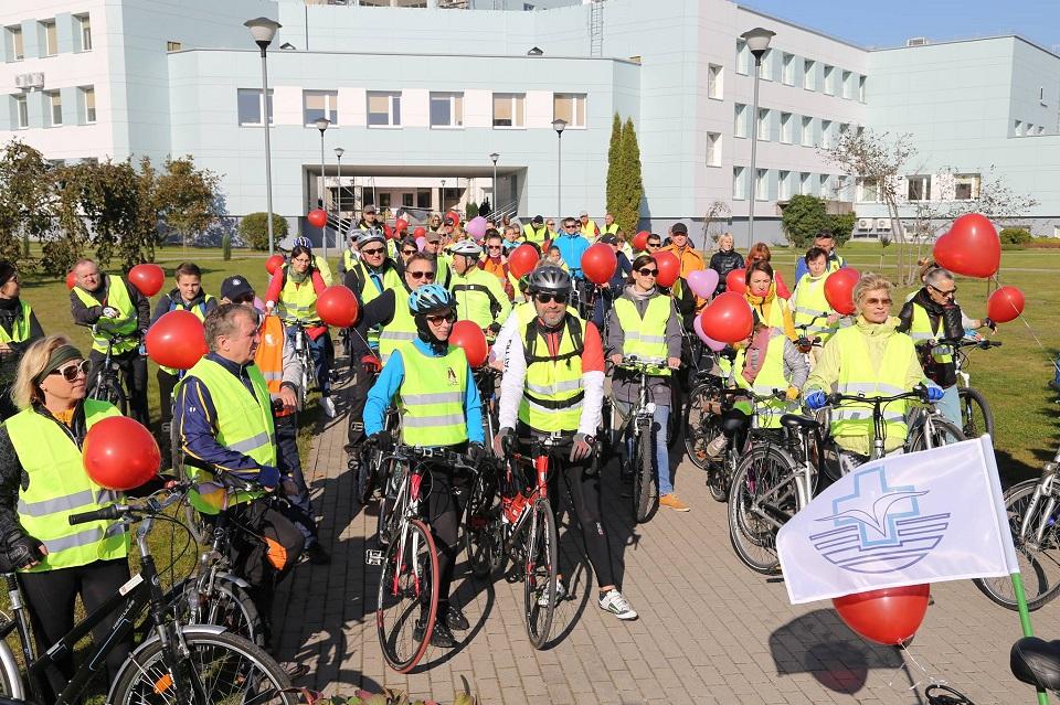 Mins dviračius už sveiką širdį