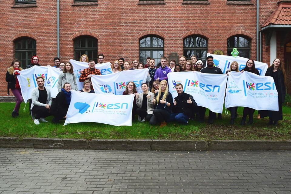 Klaipėdoje susitiko Erasmus studentų tinklo atstovai