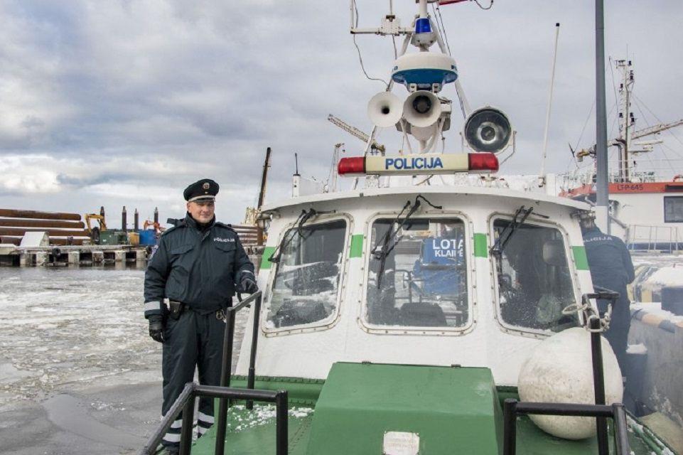 Uostas saugus ir policijos pareigūnų dėka