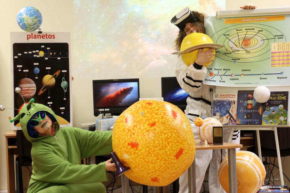 Vaikų gimtadienį galima švęsti kosmose